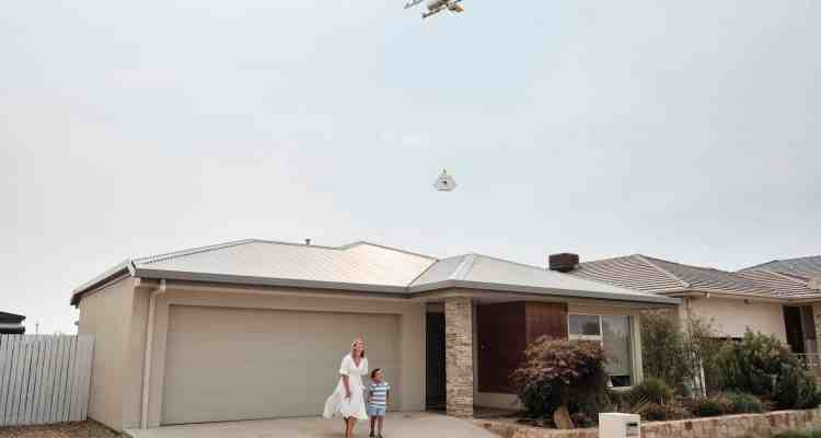 Grand Plaza drone delivery service a world first