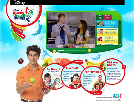 Disney Magic of Healthy Living Online