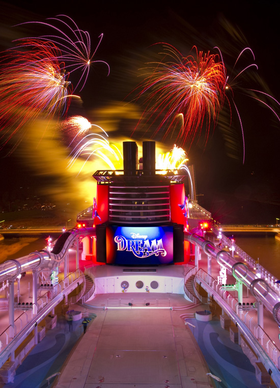 Disney Dream Sets Sail