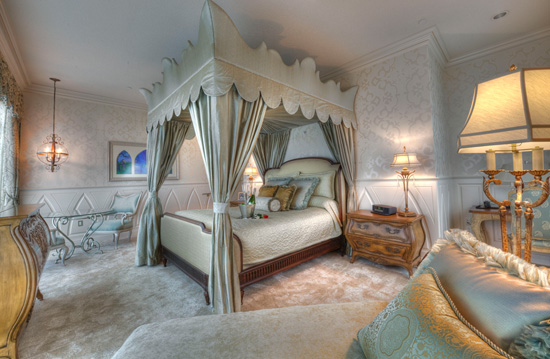 Fairy Tale Suite at the Disneyland Hotel