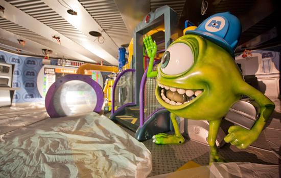 "Mike Wazowski from the Disney?Pixar film ""Monsters, Inc."""