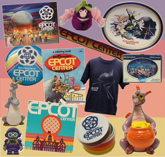 A Look Back at EPCOT Center Merchandise