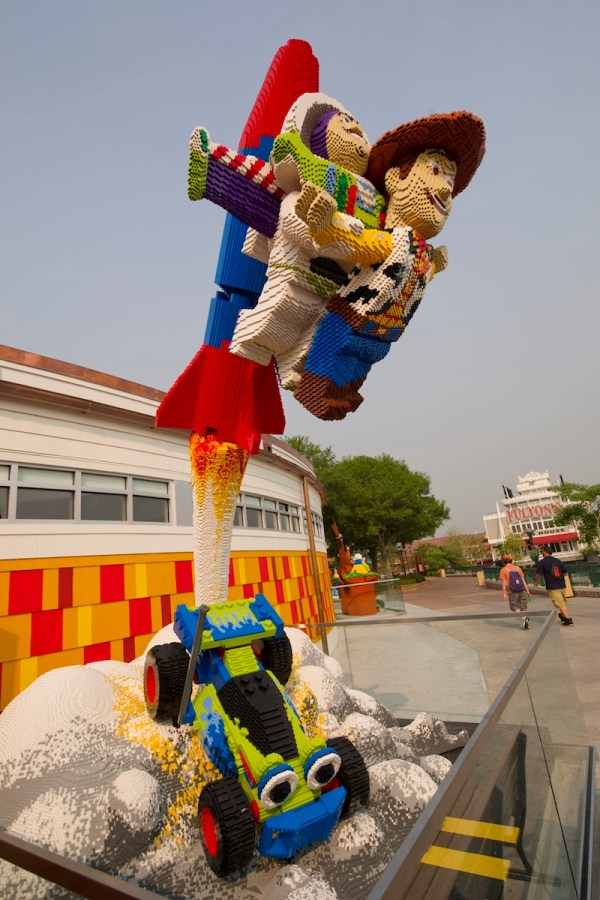 Check Lego Creations Downtown Disney