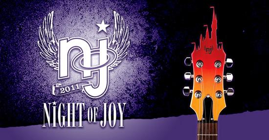 Night of Joy Concert Schedules Released