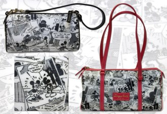 New Barrel Bags from the Dooney & Bourke Comic Collection