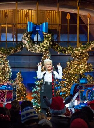 Christina Aguilera Performs at Disney's Grand Californian Resort & Spa