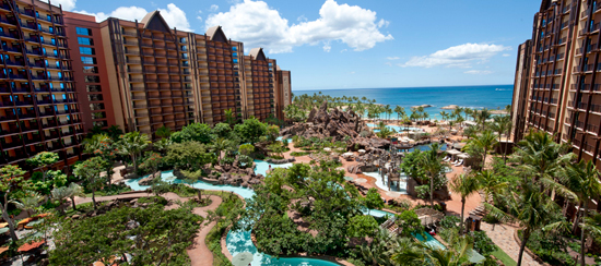 The Waikolohe Valley at Aulani, a Disney Resort & Spa