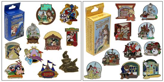 Mystery Pin Sets for New Fantasyland at Magic Kingdom Park