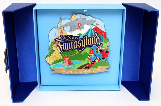 Jumbo Pin Commemorating the Grand Opening of New Fantasyland at Magic Kingdom Park