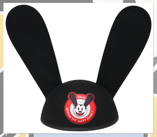 Oswald The Lucky Rabbit Ear Hat from Disney Theme Park Merchandise