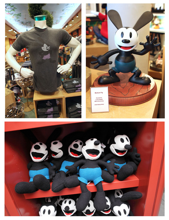 Oswald The Lucky Rabbit Merchandise Available at Disney Parks, Including Plush and Apparel