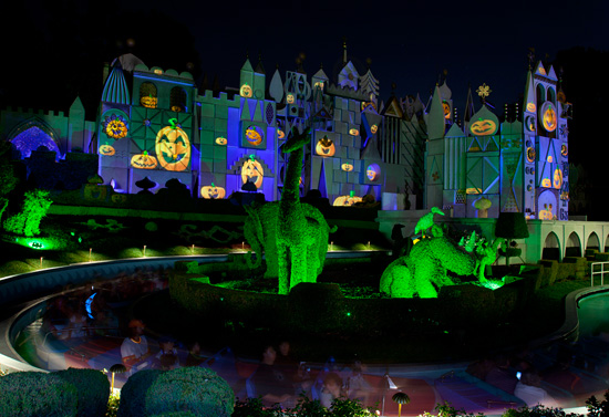 'it's a small world' During Mickey's Halloween Party in Disneyland Park