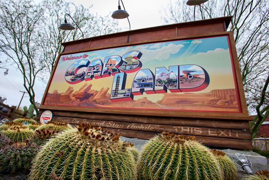Cars Land at Disney California Adventure Park