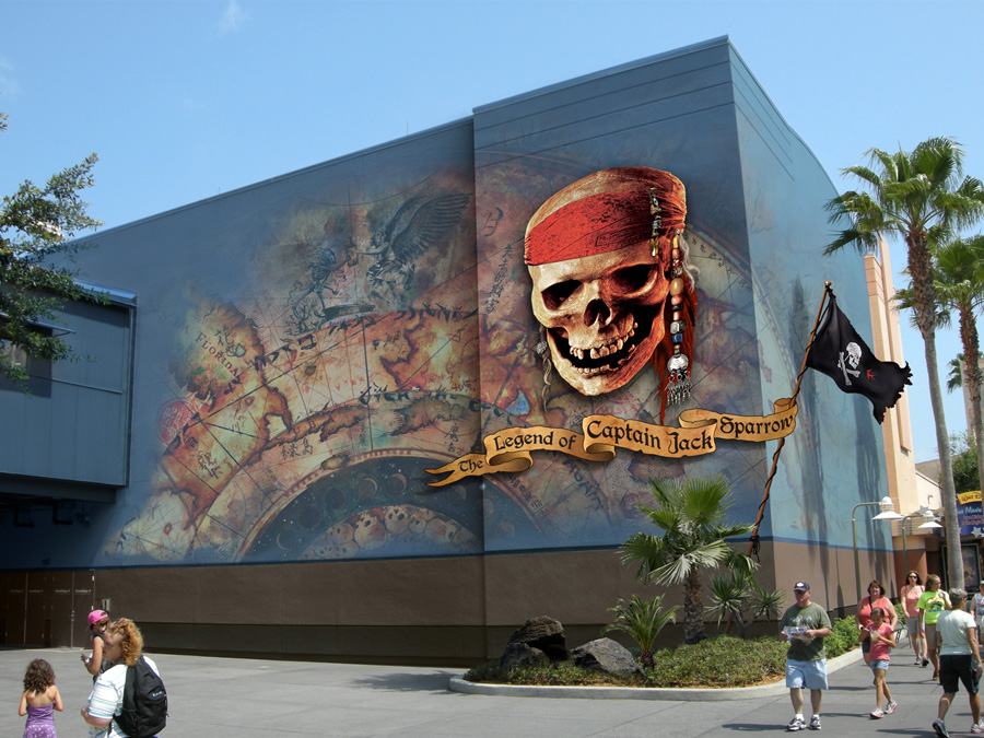 Disney Pixar Cars World Wallpaper Mural First Look Pirates Of The Caribbean The Legend Of