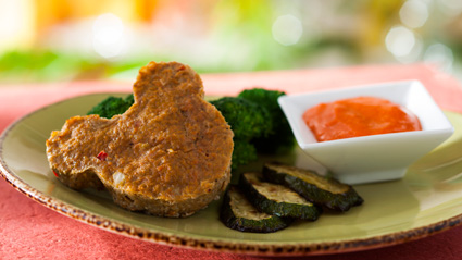 Kids' Complete Meals Include Mickey Turkey Meatloaf