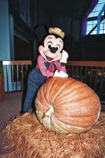 Vintage Walt Disney World Mickey And Mammoth Pumpkin
