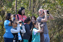 Local Girl Scouts Join Cast Members for Third Annual Walt Disney World Holiday Bird Count
