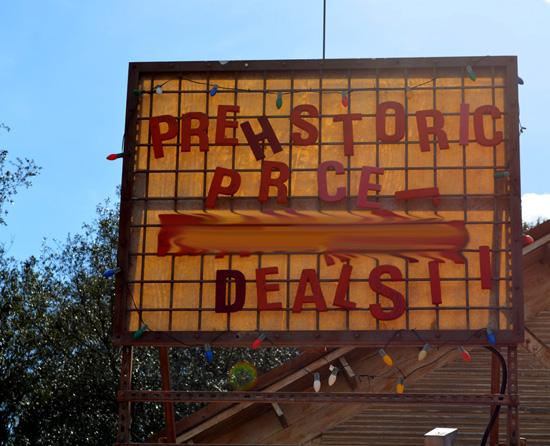 Finish that Disney Parks Sign: Great Deals in Dinoland, U.S.A., at Disney's Animal Kingdom