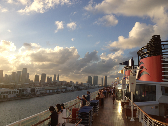 Sailing from Miami with Disney Cruise Line