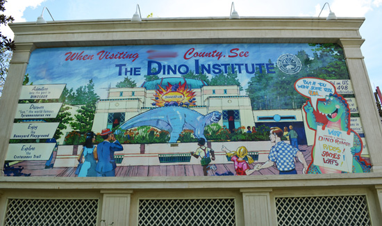 Finish that Disney Parks Sign: Which Way to Dino Institute?