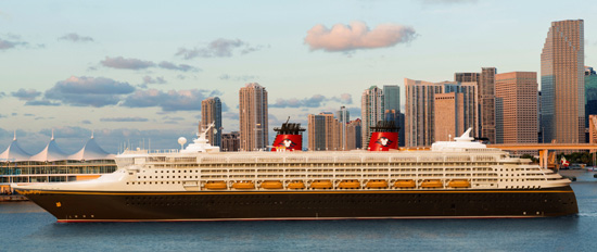 The Disney Wonder Now Sails from Miami