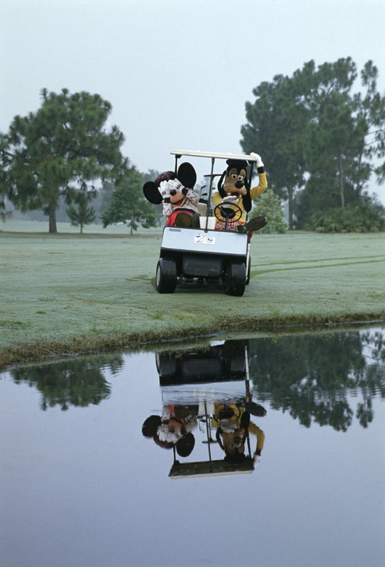 Caption This: A Day on the Golf Course With Mickey & Goofy