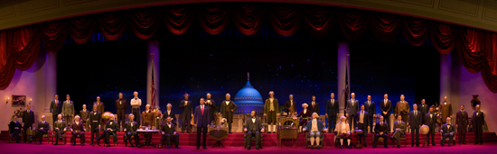 The Hall of Presidents at Magic Kingdom Park at Walt Disney World Resort