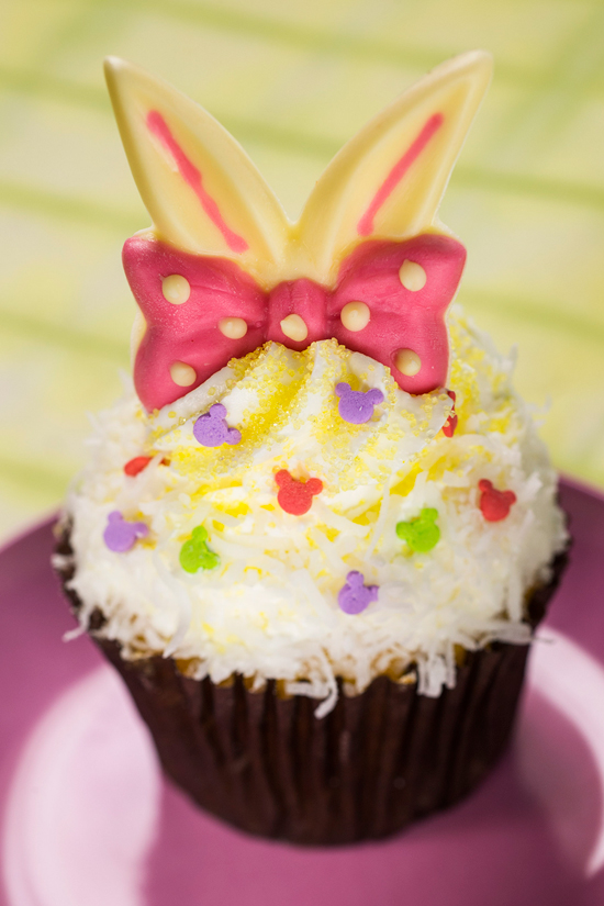 Check Out the Pineapple-Coconut Easter Cupcake at Disney's Hollywood Studios, March 18 - March 31