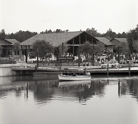 Vintage Walt Disney World: Lake Buena Vista Shopping Village Opens