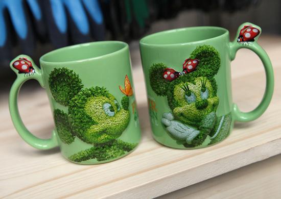 Mugs for the 2013 Epcot International Flower & Garden Festival