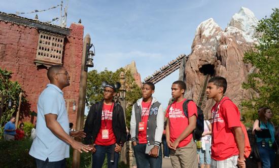 Disney Dreamers Discovering Wild Designs at Disney's Animal Kingdom