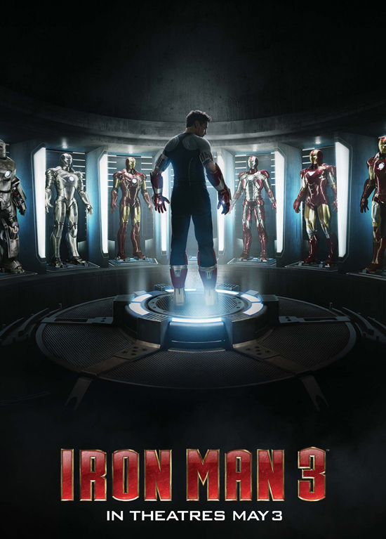 Special 'Iron Man 3' poster available at Iron Man Tech Presented by Stark Industries at Disneyland park April 13-19, or until supplies last