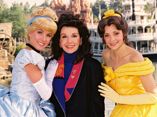 Annette Funicello at Disneyland Park, 1993