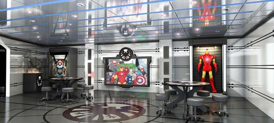 Marvel's Avengers Academy on the Disney Magic