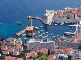 Adventures in Croatia with Disney Cruise Line, Featuring Dubrovnik Cable Cars