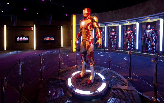 Iron Man Tech Presented by Stark Industries at Disneyland Park