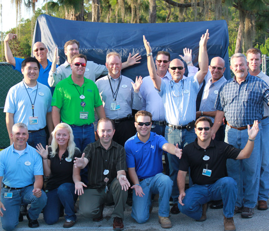 A Magical Delivery: Project Team Members Receive Key Piece of a New Disney Parks Attraction