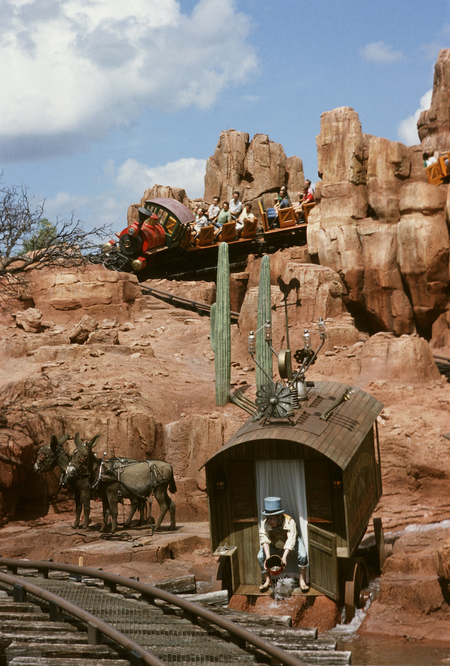 Caption This A Surprise At Big Thunder Mountain Railroad