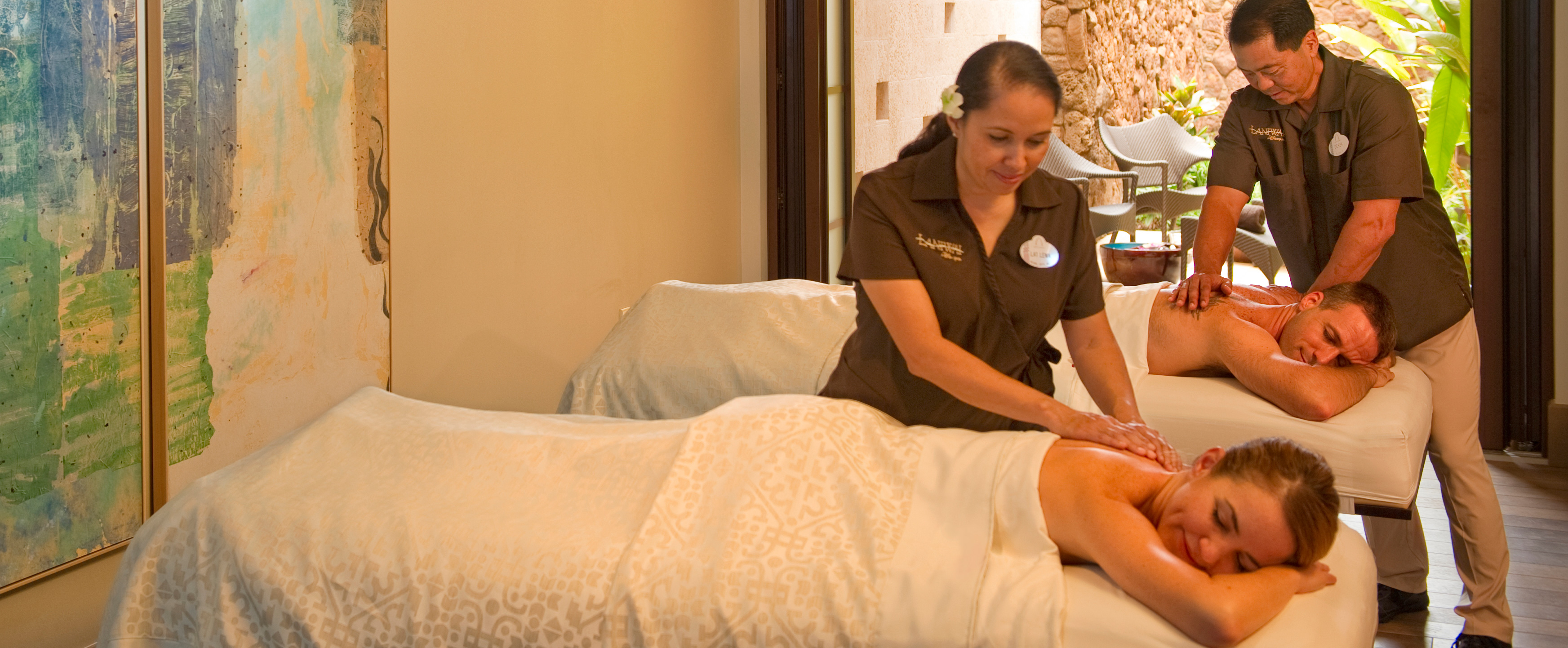 Massage Therapy Spa Resort
