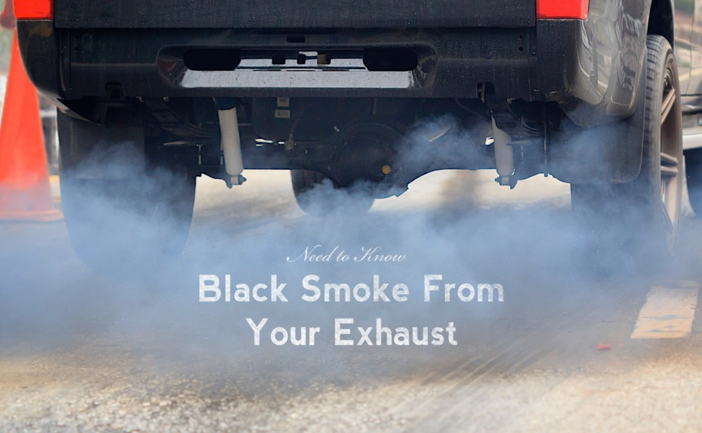 medium resolution of why is black smoke coming out of my exhaust pipe