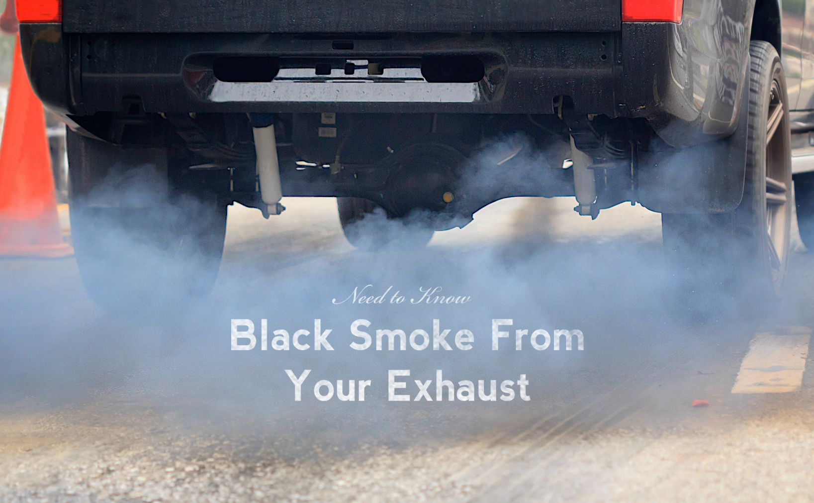hight resolution of why is black smoke coming out of my exhaust pipe