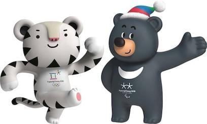 Pyeongchang Soohorang and Bandabi