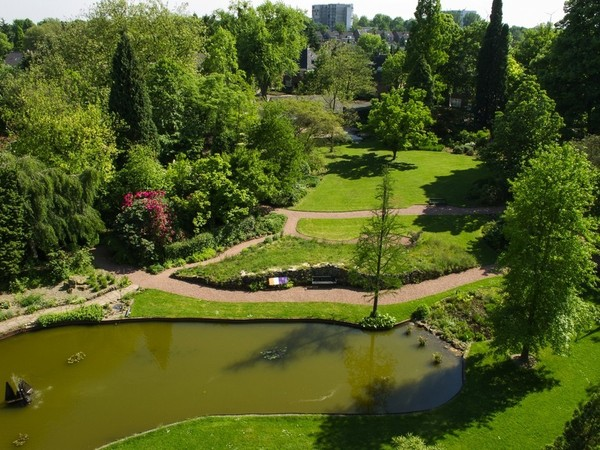 Teken Je Tuin : Opening botanische tuin kerkrade op zaterdag april
