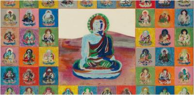 Kang Ik-Joong Happy Buddha (2008). Courtesy of the Museum of Fine Arts, Boston.