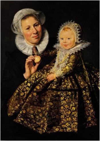 Frans Hals Catharina Hooft mit ihrer Amme, 1619-1620. Öl auf Leinwand, 91,8 x 68,3 cm. Gemäldegalerie, Staatliche Museen zu Berlin.