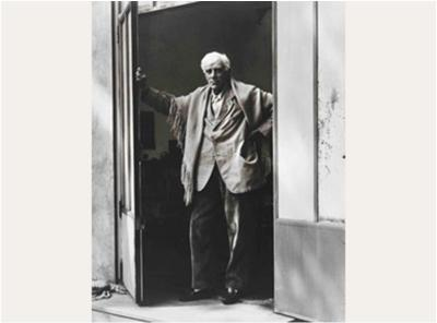 PAUL STRAND Georges Braque, Varengeville-sur-Mer, France, 1957. Philadelphia Museum of Art. Courtesy of The Phillips Collection, Washington, D.C.