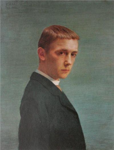 Felix Vallotton, Self Portrait, 1885.