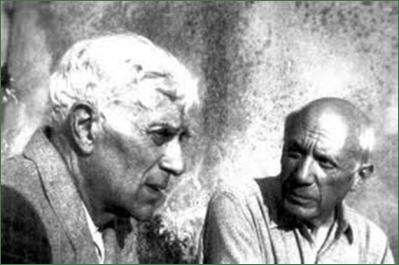Georges Braque y Pablo Picasso