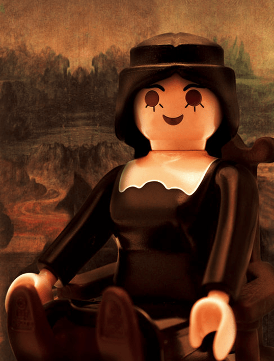 Richard Unglik Mona Lisa, La Joconde Playmobil ®