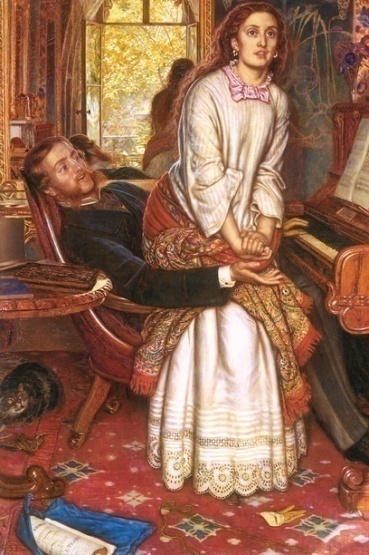 William Holman Hunt, The Awakening Conscience, 1853.